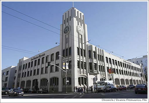 Hearst's Chronicle Building (Image Source: sfgate.com)