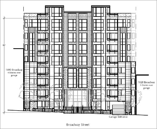 1650 Broadway: Original Design