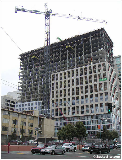 It Goes No Higher: 1188 Mission (AKA Trinity Place Phase I) Tops Off