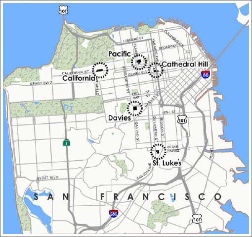 CPMC's Long Range Development Plan And Cathedral Hill Campus