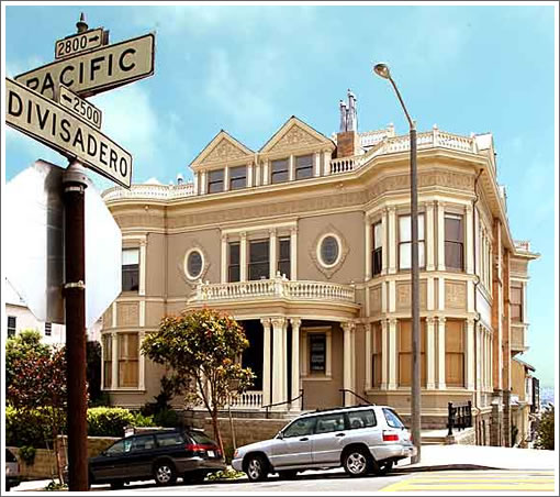 A Landmark District Seven Mansion Foreclosure (2799 Pacific)