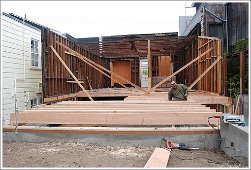 3961 25th Street: Rebuilding