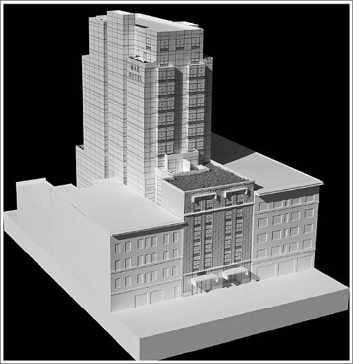 942 Mission Street: Model