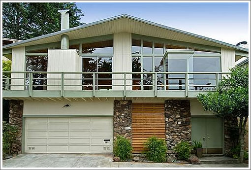"""A (195) Beacon Of Renovated """"Hollywood Hills Style"""" Up In Glen Park"""