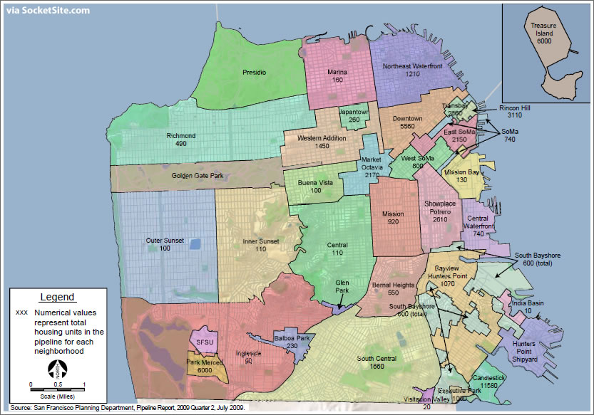 San Francisco's Housing Pipeline And 2009 Housing Element Report