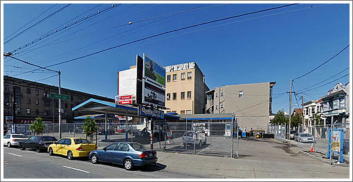 490 South Van Ness Site (Image Source: MapJack.com)