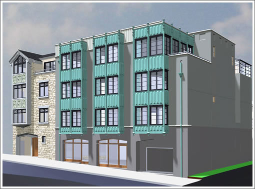 1327 7th Avenue: Rendering (Image Source: Hamilton & Company Architecture)