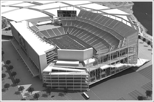 Proposed San Francisco 49ers Stadium at Hunters Point