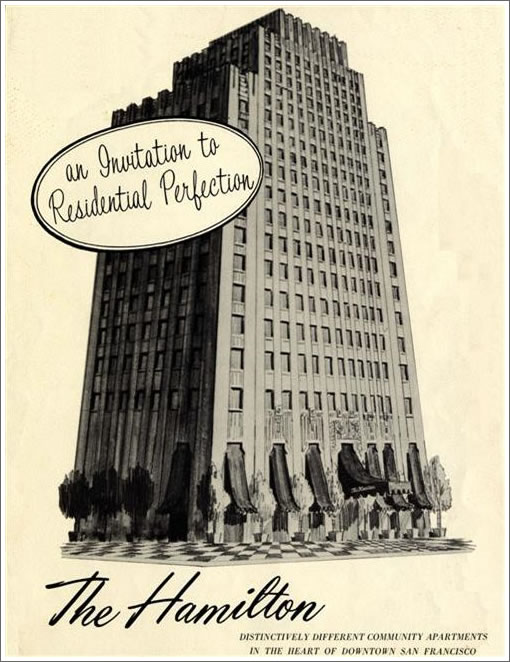 High Atop The Hamilton (631 O'Farrell): Penthouse Listing And History