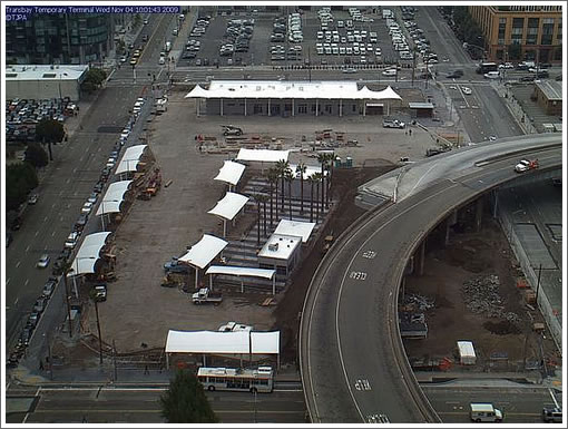 Transbay Terminal Contruction Cam: 11/4/09