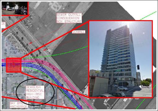 HSR Beale Street Terminal Required Watermark Demolition