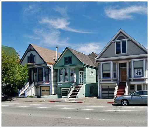 683 San Jose Avenue in the middle (Image Source: MapJack.com)