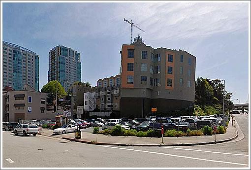 Transbay Block 11A Site (Image Source: MapJack.com)