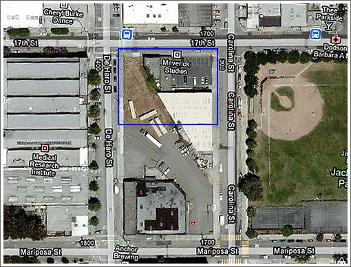 1717 17th Street: Eastern Neighborhoods Plan In Action As Proposed