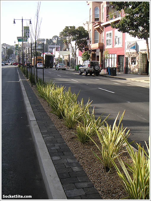 New Divisadero Median (www.SocketSite.com)