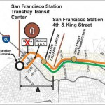 HSR: Beale Street Alternative Rejected, Transbay Recomended