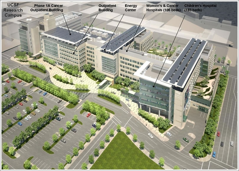 UCSF Mission Bay Medical Center Project Costs Down, Donations Up