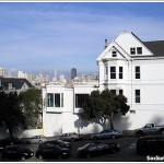 The Designs For Three New Houses Below SF's Historic Postcard Row