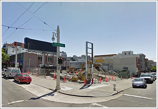 Filbert and Van Ness Site