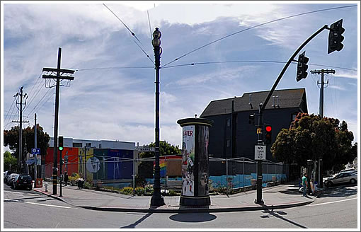 2299 Market Street Site (Image Source: MapJack.com)