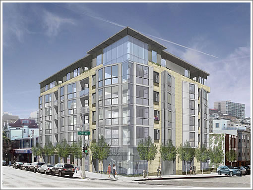 2559 Van Ness Rendering as Proposed