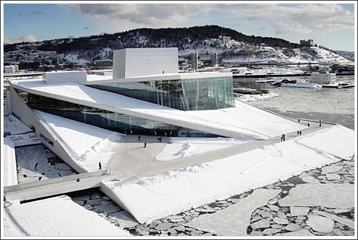 Snøhetta's National Opera and Ballet Building in Oslo