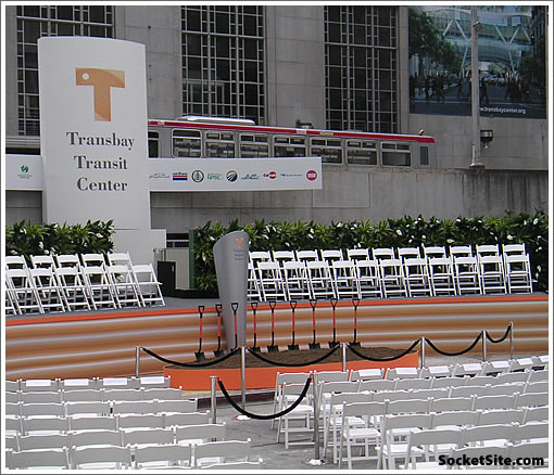 Transbay Transit Center Groundbreaking (www.SocketSite.com)