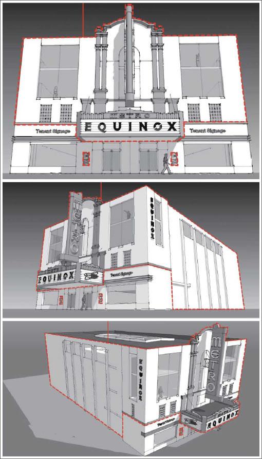 Metro Theater (2550 Union) Proposed Facade