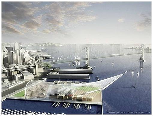 Pier 30-32 SOM Rendering