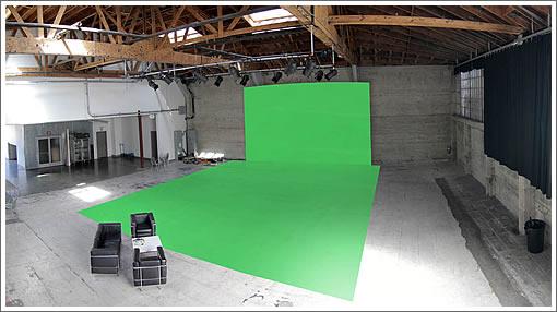 Potrero Hill Studio Green Screen