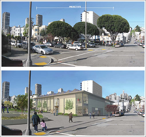 North Beach Branch Library Rendering