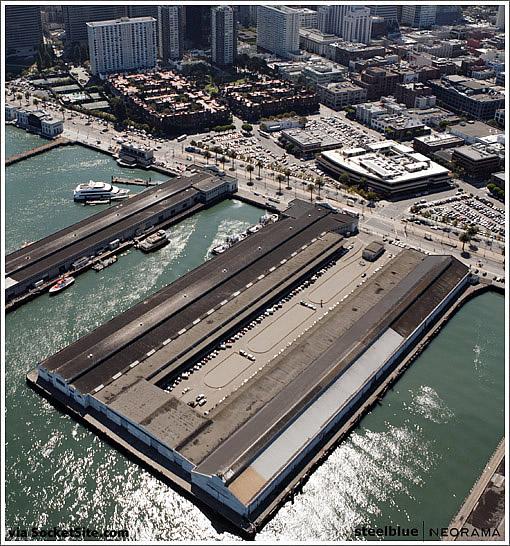 San Francisco Piers 15-17 (Image Source steelblue|NEORAMA and via SocketSite.com)