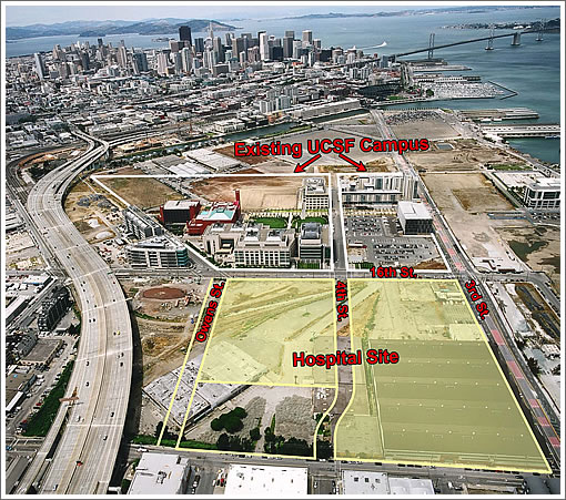 SocketSite™ | The Building Of UCSF's New Mission Bay Medical Center