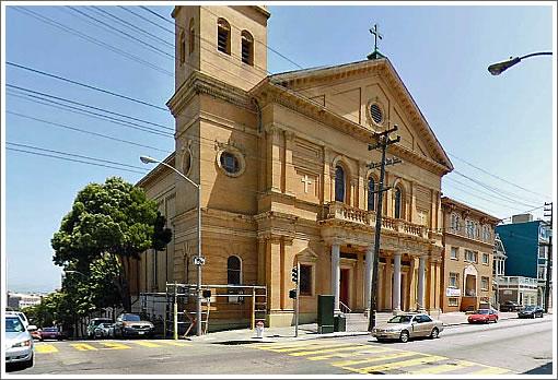 Sacred Heart Church (Image Source: MapJack.com)