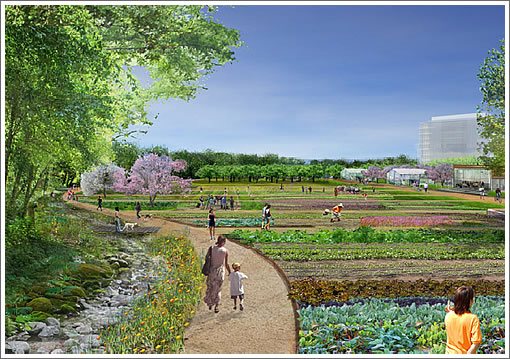 Parkmerced Proposed Garden
