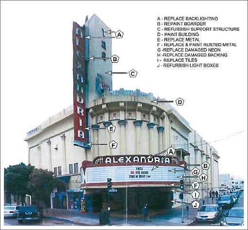 Proposed Alexandria Theater Improvements