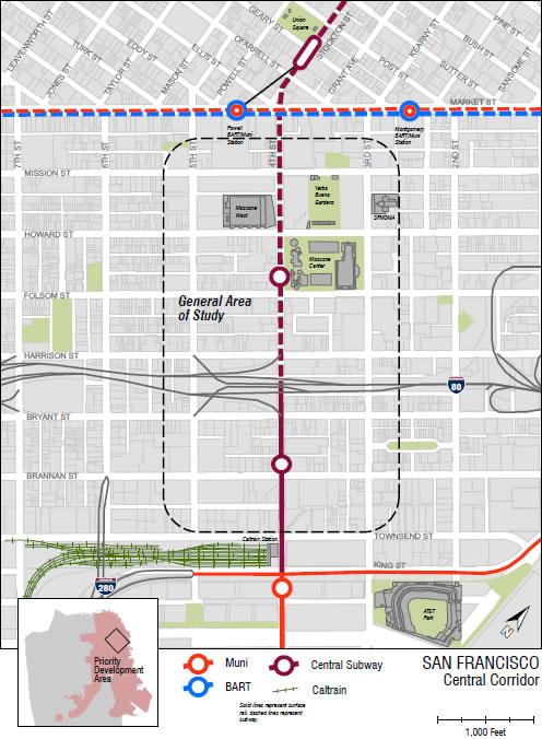 Central Corridor Project Area