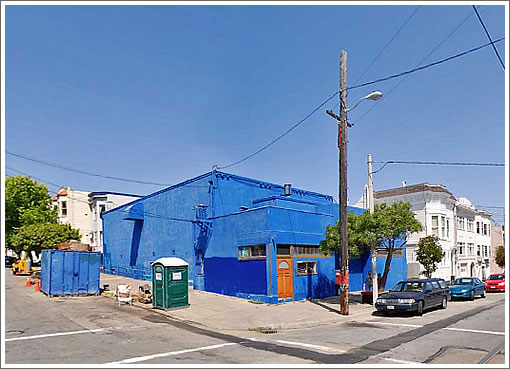 Noe Blue Church (Image Source: MapJack.com)