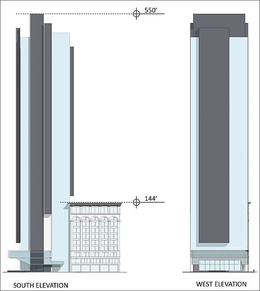 706 Mission Tower Elevations