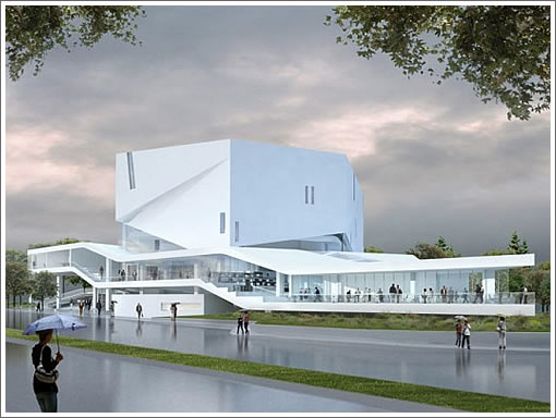 Mashouf Performing Arts Center Rendering