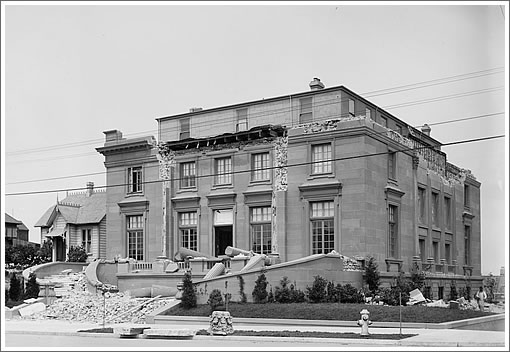 "Minor's ""Abandoned"" Mansion At 3800 Washington"