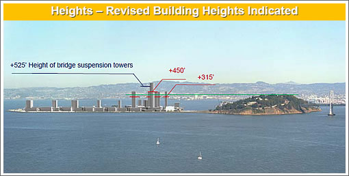 Treasure Island Building Heights