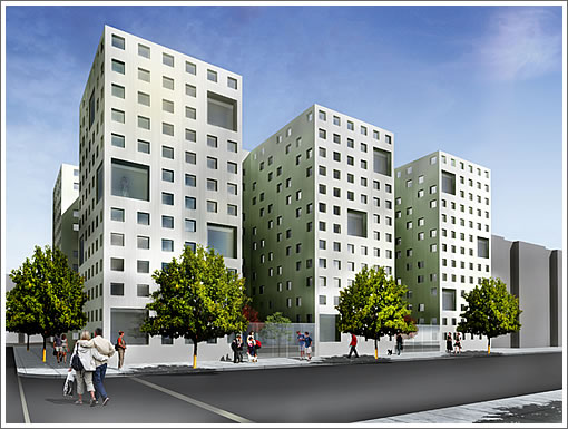 1501 15th Street Early Rendering