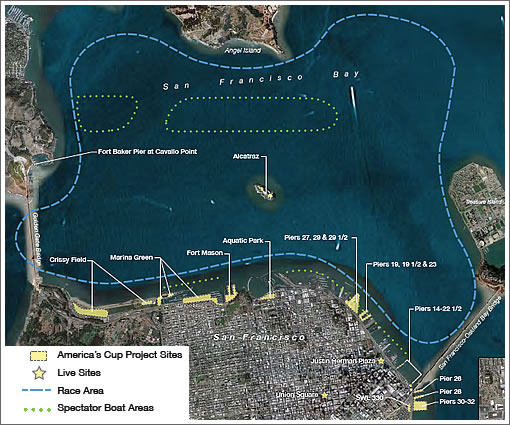 The 34th America's Cup Environmental Impact Report (And Issues)