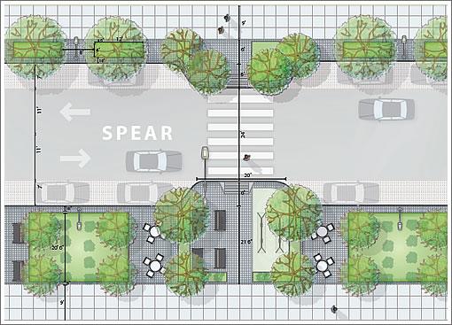 Rincon Hill Master Plan: Spear Street