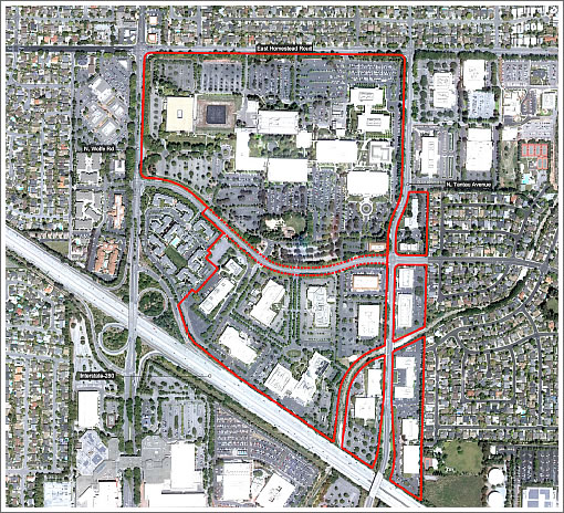 Apple Campus 2 Site: Existing