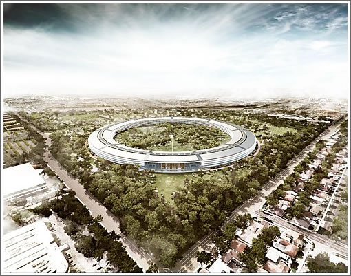 """The """"iCon"""" At The Center Of Apple's Proposed Cupertino Campus 2"""