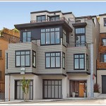 Two Of Two Contemporary New Homes On Clayton: Number 1397