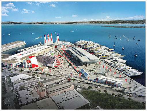 Rendering Scoop: San Francisco's Major America's Cup Venues