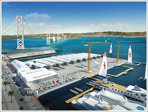 Have No Fear, Red's To Remain In Place For The America's Cup
